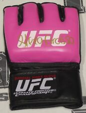 Alexa Grasso Signed Official UFC Pink Fight Glove BAS Beckett COA MMA Autograph