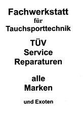 Inspektion / Revision / Service Atemregler (z.B. Mares abyss)