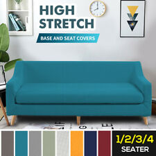 Sofa Covers 2-Piece 1/2/3/4 Seater High Stretch Couch Lounge Slipcover Protector