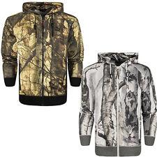 Puma Photo Real Camo Print Mens Hooded Full Zip Hoody Track Jacket 566653
