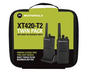 Motorola XT420 Two-Way Radio Twin Pack