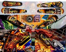IRON MAIDEN Pinball Flipper Armour (PICK PIC #1 OR PIC #2)
