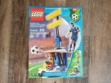 New NIB Lego Sports Soccer Set 3402 Grandstand with Lights