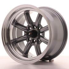 Japan Racing JR19 Alloy Wheel 15x9 - 4x114.3 / 4x100 - ET-13 - Gun Metal