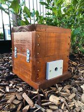Stingless Native Beehive | Stained | Mini OATH Bee Hive