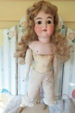 Antique German Doll Marked H-K 1 Karl Hartmann the company is circa 1911- 1926
