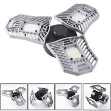 60W E27 Deformable High Bay UFO LED Light Industrial Warehouse Work Mining Lamp