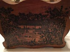 Vintage Purse with Chinese Scene REDUCED from $23.99