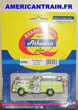 Camion de pompier Ford-C Fire Truck Rescue #9 HO 1/87 Athearn