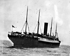 New 8x10 Photo: Rescue Ship SS CARPATHIA with TITANIC Lifeboats, 1912
