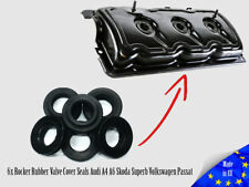6x Cylinder Injector Valve Cover Seals Superb Audi A4/6/8 Ford Volkswagen Passat