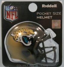 NFL American Football JACKSONVILLE JAGUARS Riddell SPEED Pocket Pro Helmet