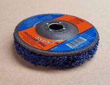 PFERD POLICLEAN PLUS DISC PCLD 100 -13 HI DENSITY BLUE NYLON WEB ABRASIVE DISC