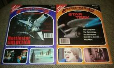 MAGAZINE SCIENCE FICTION FANTASY BATTLESTAR GALACTICA/STAR TREK.w posters 1978