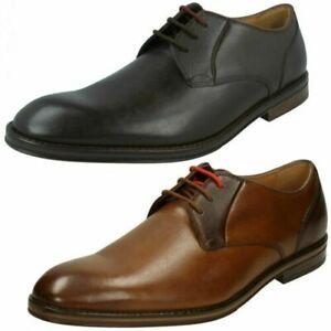 Clarks Mens Lace Up Formal Shoe - Citi Stride Lace