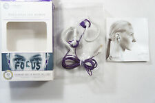 Yurbuds Flexsoft 10220 Purple w/ Ultra Soft Comfort Fit, Free 2-3 Day Shipping
