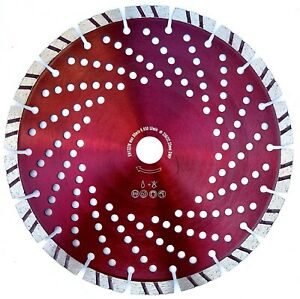Diamanttrennscheibe Turbo Power Seg. Ø115 125 150 180 230 300 350 Beton Granit