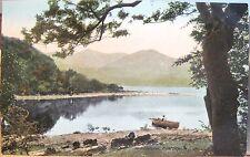 Irish Postcard Isle of INNISFALLEN Boat Lakes of Killarney Ireland Valentine