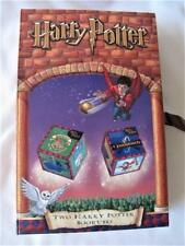 Hard to Find 2 Harry Potter Bookubes (2001 issue) Puzzle Cubes