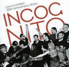 Live in London-35th Anniversary Show-Incognito-2CD-Neu!