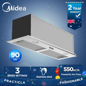Midea 52CM Undermount Rangehood Built In Range Hood LED Light