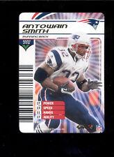 2003 NFL Showdown ANTOWAIN SMITH New England Patriots Rare Gold Foil Insert Card