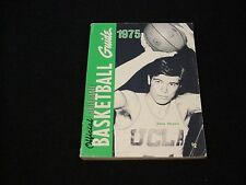 1975 Official Collegiate Basketball Guide - Dave Meyers / UCLA
