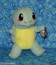 Pokemon Squirtle Plush Doll 1999 Nintendo USA Seller Perfect for Pokemon GO USA
