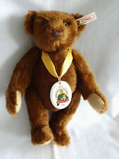 Steiff Teddy Margarete Steiff Teddy 28 in dunkelbraun  Jahr 1997 Fotos