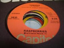 Rock 45 RASPBERRIES Tonight on Capitol