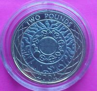 2004 ROYAL MINT SHOULDERS OF GIANTS £2 TWO POUND  PROOF COIN
