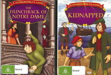 The Hunchback Of Notre Dame / Kidnapped - Family / Adventure -  NEW DVD