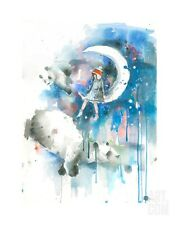 LORA ZOMBIE PANDA PRINT LIMITED EDITION OF 100 SIGNED & NUMBERED