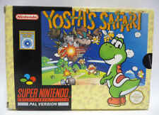 YOSHI'S SAFARI  - NINTENDO SCOPE SUPER NINTENDO SNES PAL BOXED