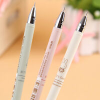 4pcs/Pack Gel ink Rollerball Pen Writing Instruments Black Ink 0.38mm New.
