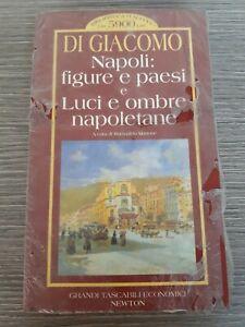 Napoli: figure e paesi e Luci e ombre napoletane. .Di Giacomo. 1995.  Sigillato
