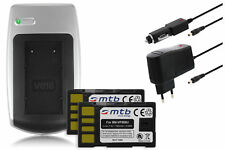 Chargeur+2x Batterie BN-VF808 pour JVC GZ-MG680, MG730, MG840, MS90, MS95, MS100
