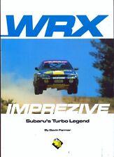 Subaru Impreza WRX Imprezive - rare book