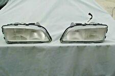 1998-2002 Volvo S70 C70 Headlights w/ Bulbs (LH&RH) OEM 90 Day Warranty