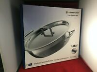 Le Creuset Toughened Non-Stick Shallow Casserole with Lid - 30 cm - BRAND NEW