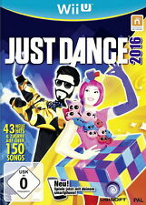 Just Dance 2016 (Nintendo Wii U, 2015, DVD-Box)