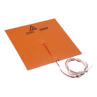 200x200mm 220V 200W Silicone Heater Pad 3D Printer Heat Bed Heating Mat