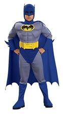 Deluxe Batman Brave and Bold Muscle Child Costume Size Small