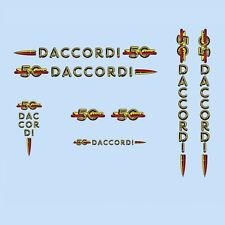 Daccordi 50th Anniversary Bicycle Decals-Transfers-Stickers #1