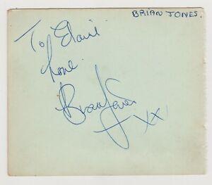 The Rolling Stones Autographs, 1964 - Jagger, Jones, Wyman, Watts