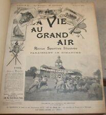 la vie au grand air, revue sportive illustrée, année 1901 complète en 52 n°
