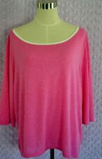 Victoria's Secret Angel Collection Pink Short Sleeve Shirt Top NEW Size: L