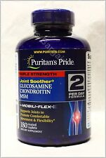 Puritan's Triple Strength Glucosamine Chondroitin MSM 180 Caps New Free Shipping