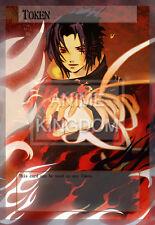 YUGIOH Cool Anime Orica Token Naruto Uchiha  Sasuke  # 540