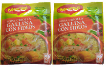 MAGGIE Sopa Criolla Gallina con Fideos 60 gr. - 2 Pack